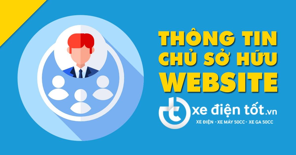 Thông tin chủ sở hữu website