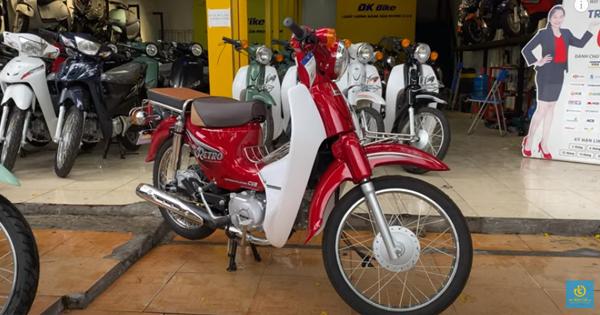 Trên tay Xe Cub 50cc DK Retro Đủ màu, tặng Phí trước bạ | Xe điện TỐT