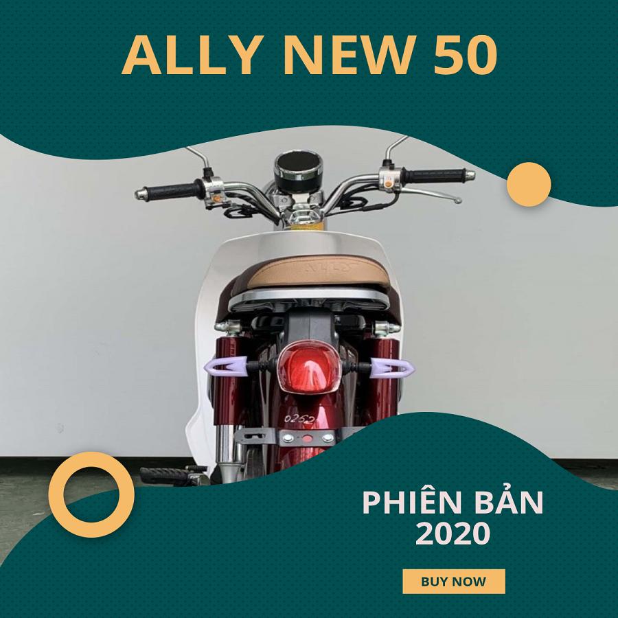 Xe Cub 50cc Ally New 50